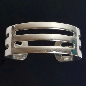 Vintage Sarah Coventry Cuff Bracelet Cutout
